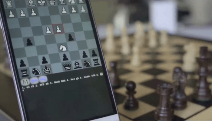 Square Off lets chess players go head-to-head with AI or human opponents anywhere in the world, on a physical, wooden board that moves pieces by itself