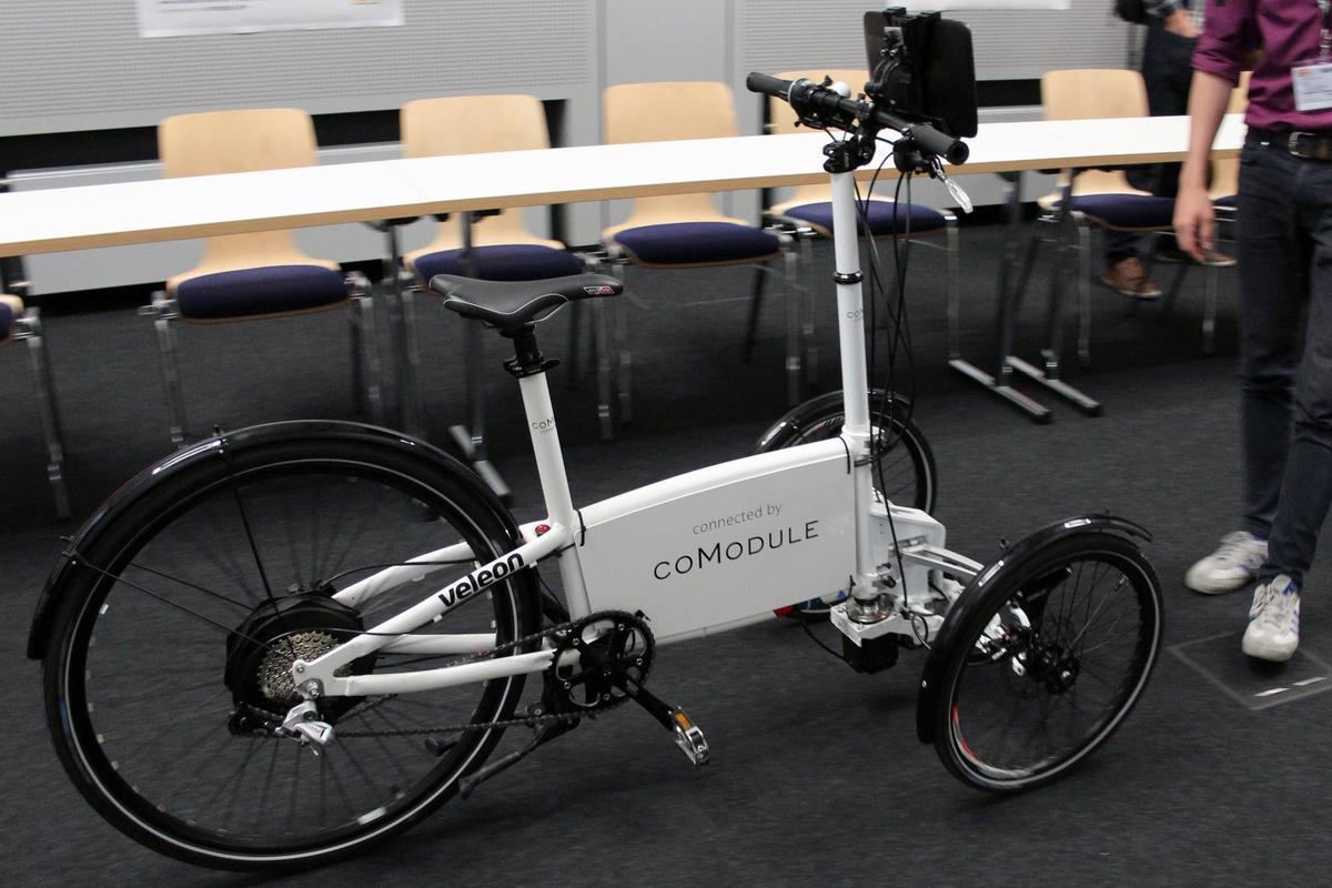 CoModule has some ambitious ideas for its autonomous e-bike concept