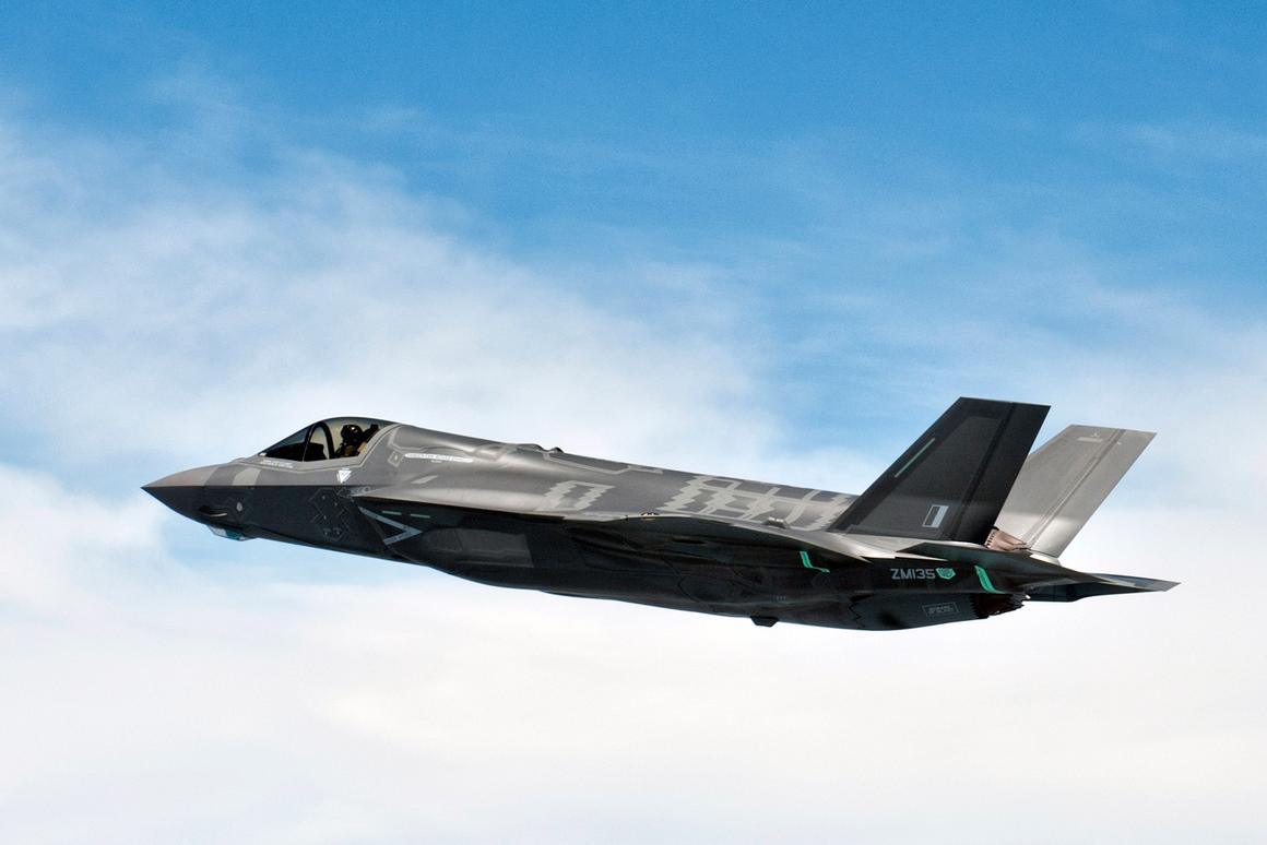 The public début of the F-35 was cancelled due to a technical issue (Photo: Lockheed Martin)