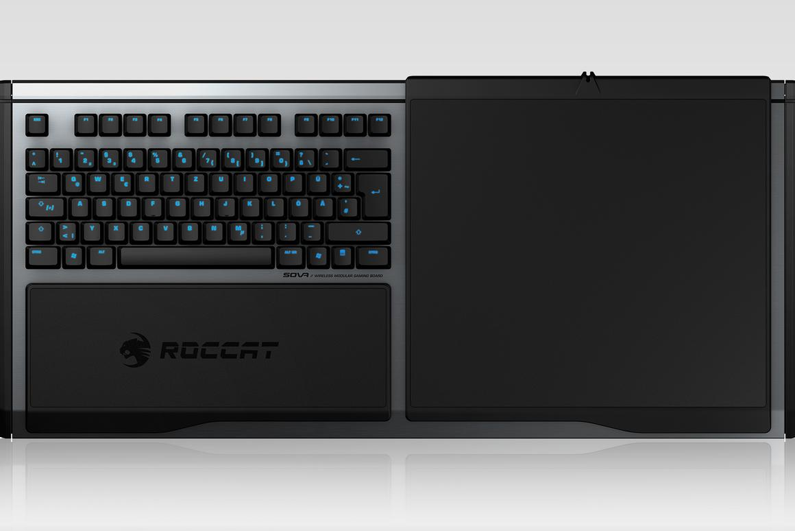 The Sova keyboard aims to bring the precision of PC gaming to the couch