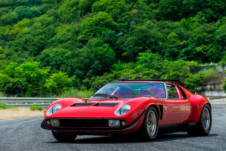 Lamborghini restores the one and only Miura SVR