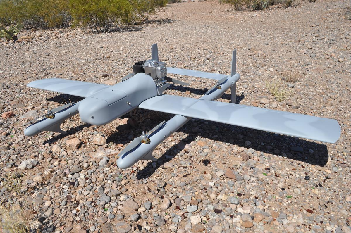 Latitude Engineering's Hybrid Quadrotor UAV
