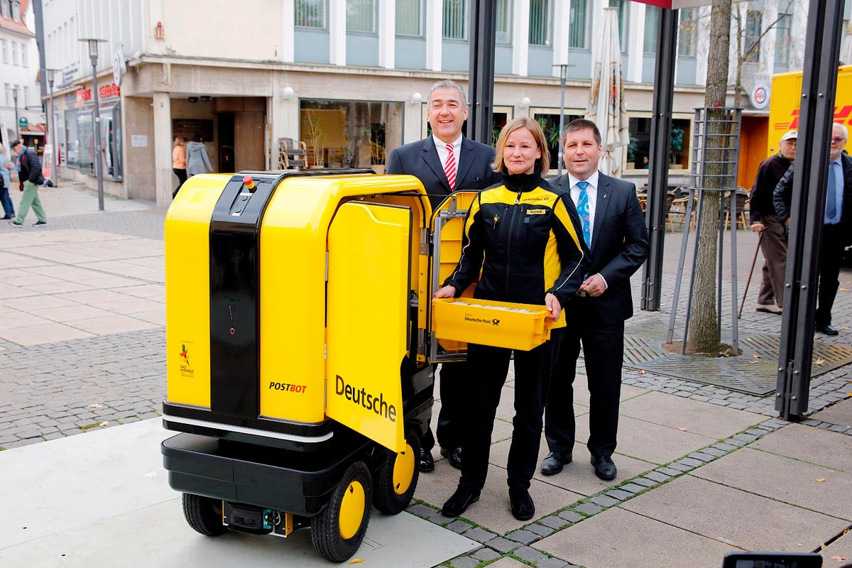DHL's PostBOT pilot project will run for six weeks