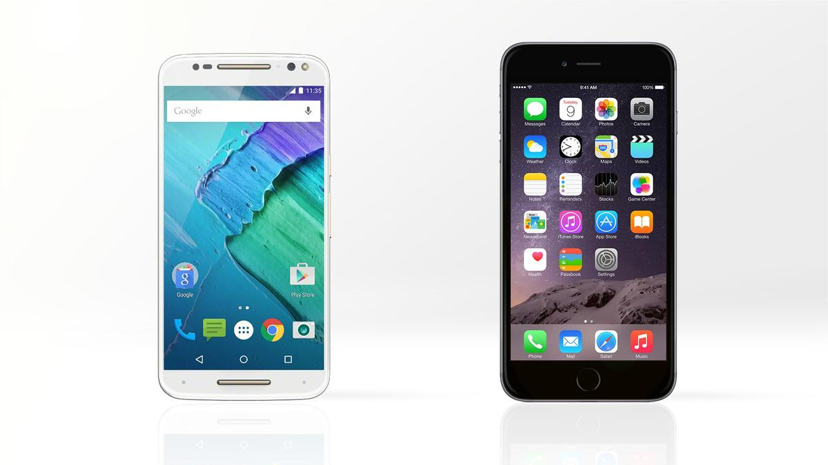 Gizmag compares the features and specs of the new Moto X Style (Pure Edition) and the iPhone 6 Plus