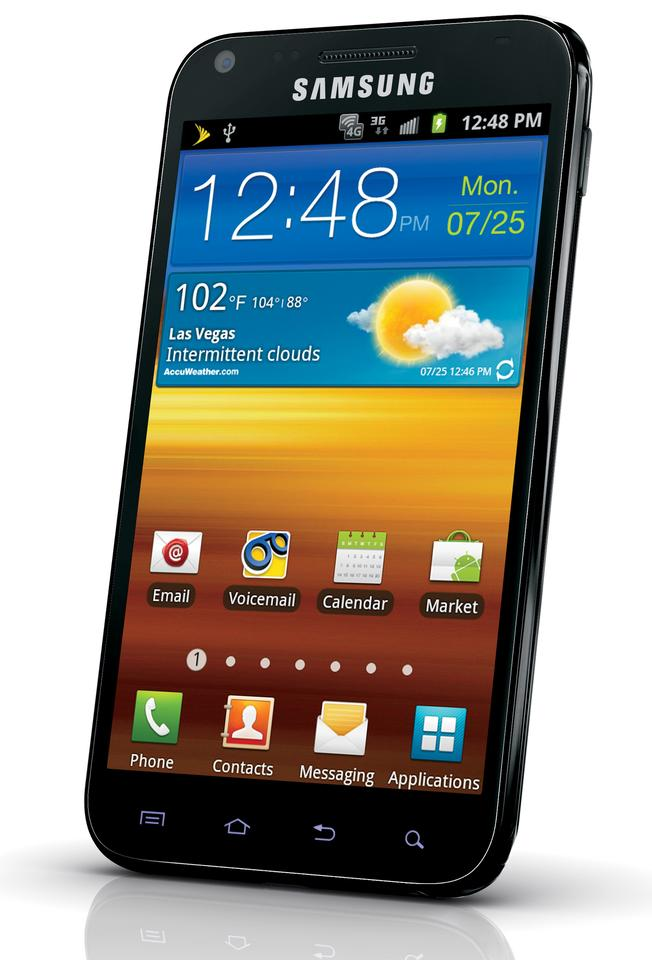 The Samsung Galaxy S II Epic 4G Touch available from Sprint