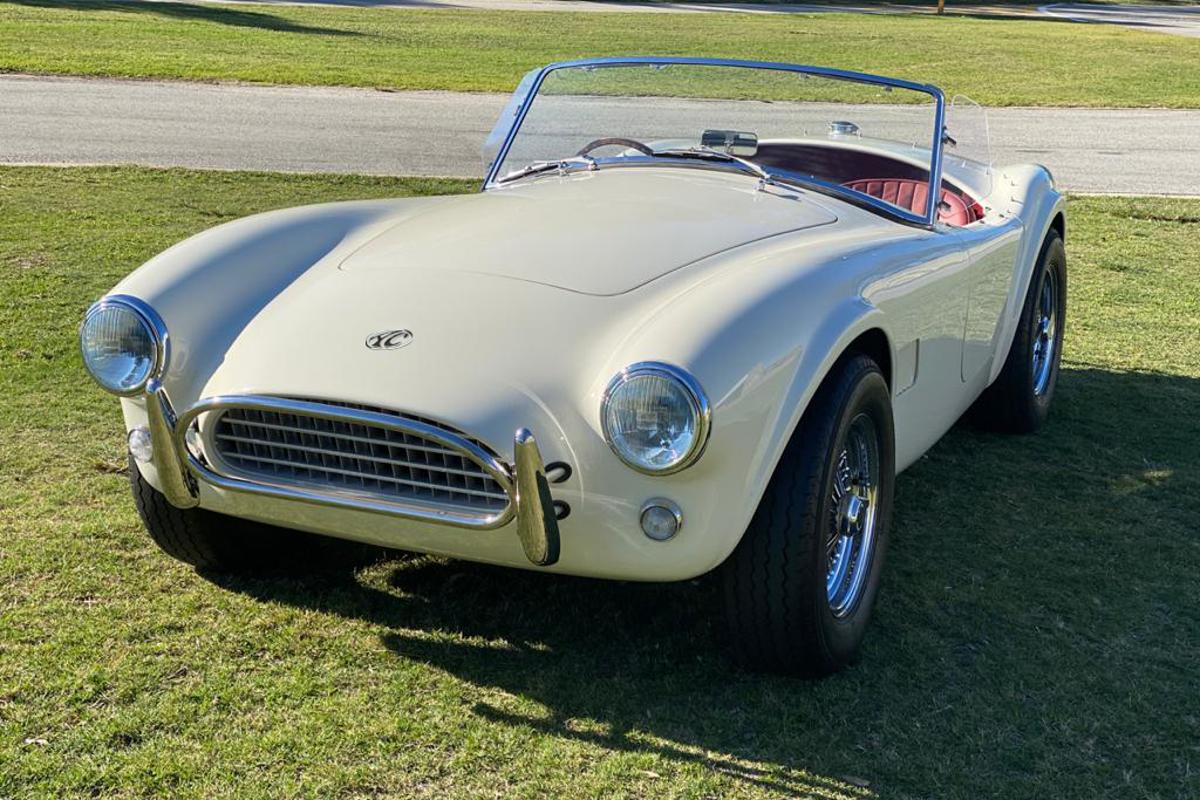 AC plans to build 58 of the Cobra Series 1 Electric cars, representing the number of years since the Cobra's debut in 1962