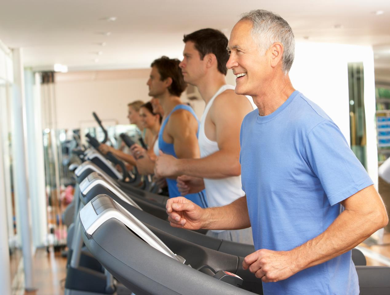 A 12-month study found aerobic exercise improves blood flow to parts of the brain linked with memory