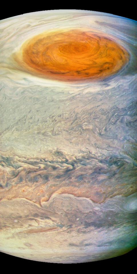 Great Red Spot - Southern View