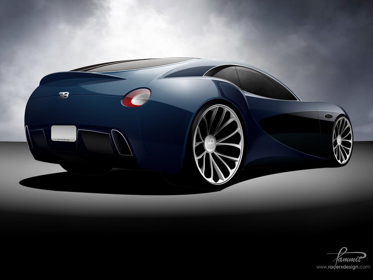 Reuben Zammit's RacerX Bugatti Type 12-2 concept design