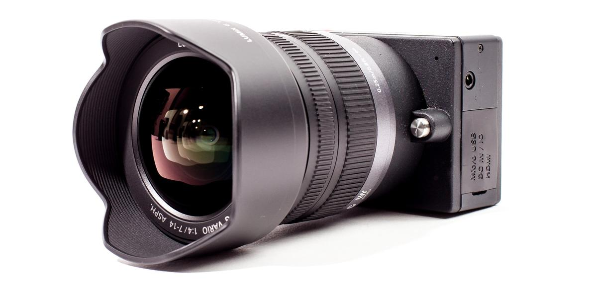 The E1 from Z Camera uses Micro Four Thirds lenses