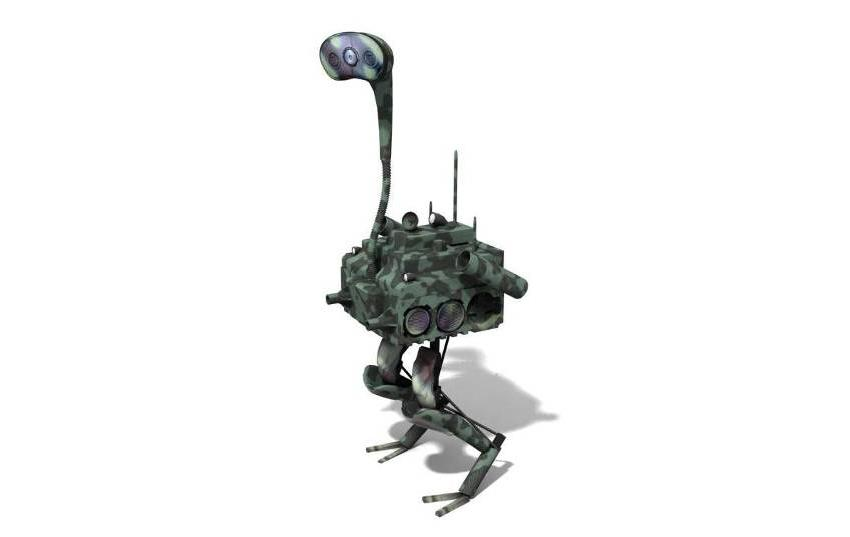 A rendering of the FastRunner bipedal sprinting robot (Image: IHMC)