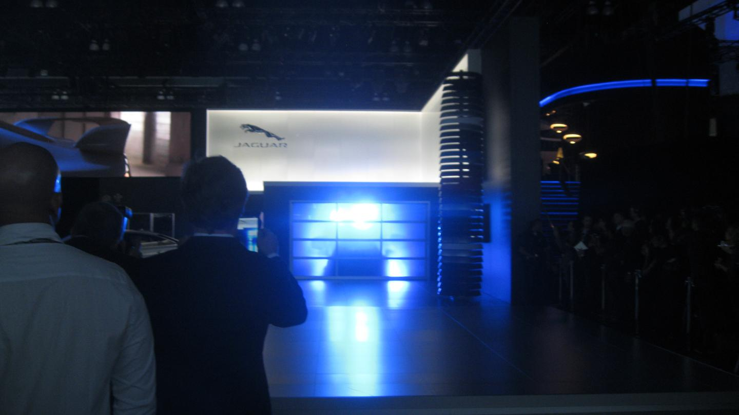 The XFR-S makes its way onto stage