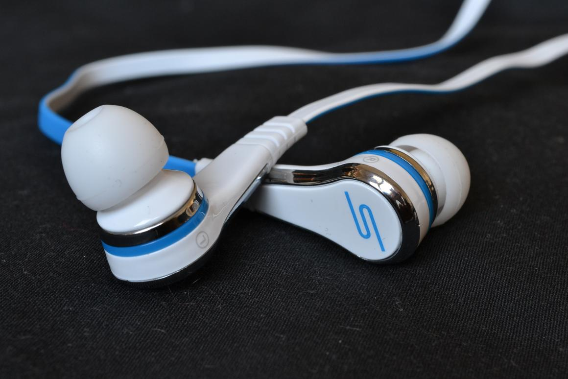 The STREET by 50 in-ear wired headphones from SMS Audio