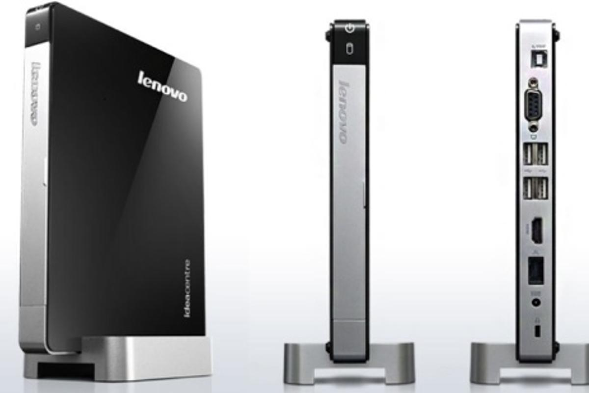 Lenovo has announced the tiny IdeaCentre Q180 desktop PC with Windows 7 onboard, powered by an Intel Atom D2500 CPU and AMD Radeon HD 6450A discrete GPU