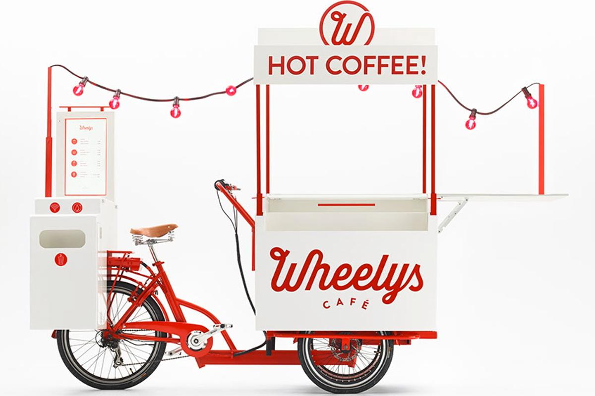Wheelys 2 is made for entrepreneurs who don't mind doing a bit of pedaling ... and peddling