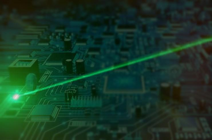 Scientists have found a way to create nanoscale lasers directly from silicon, unlocking the possibilities of direct integration of photonics on integrated circuits