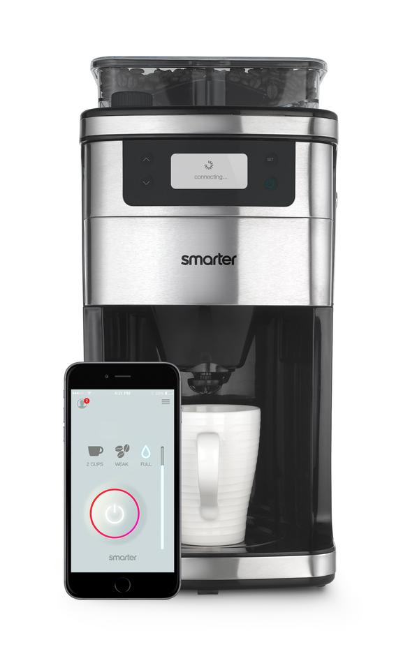Smarter Coffee lets you brew your perfect cup of coffee from your smartphone or tablet