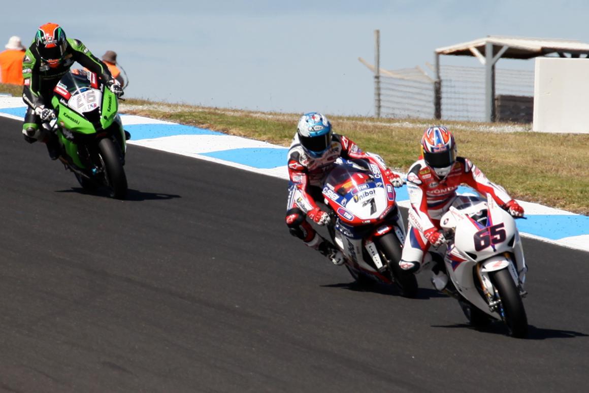 2012 World Superbikes at Phillip Island, Australia