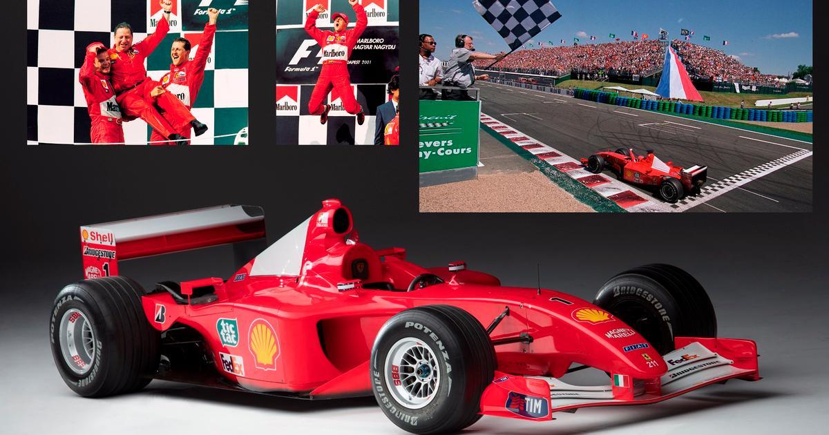 Schumacher S 2001 Ferrari F1 For Sale As Contemporary Art