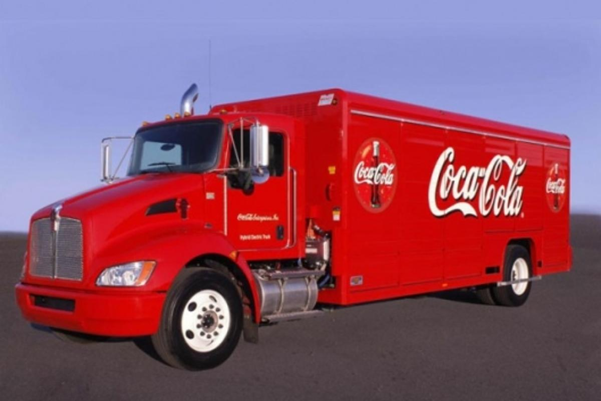Coca-Cola to purchase 120 Eaton diesel-electric hybrid trucks