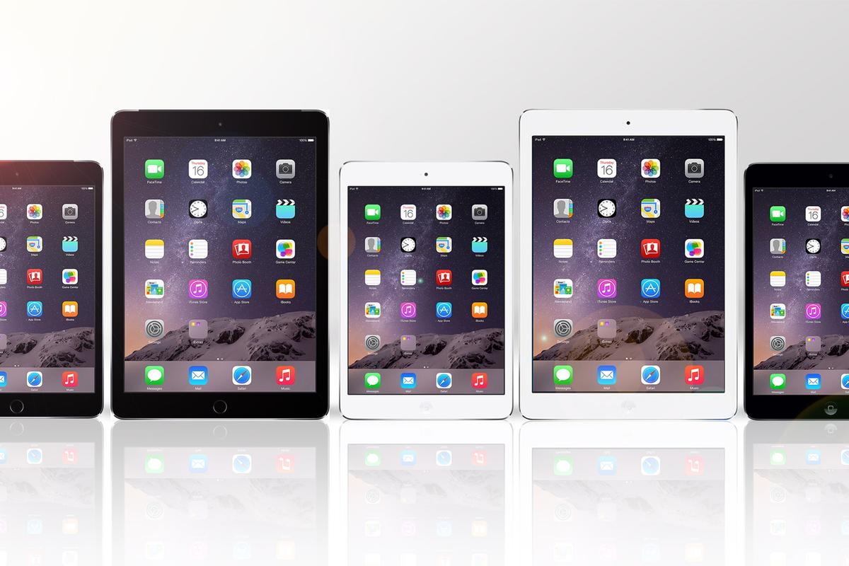 Gizmag compares the features and specs of the five iPads Apple is offering up for the next year
