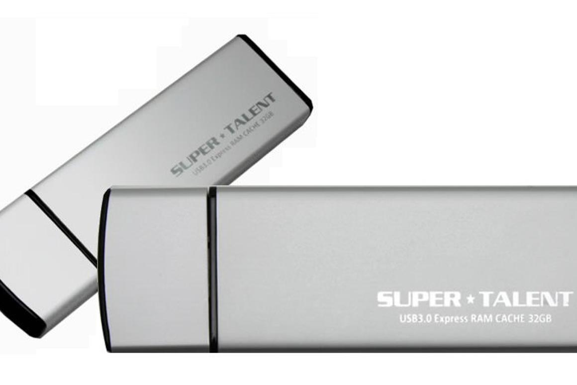 Super Talent has announced that it is to offer its Express RAM Cache drives pre-loaded with the Ceedo Personal virtual Windows desktop