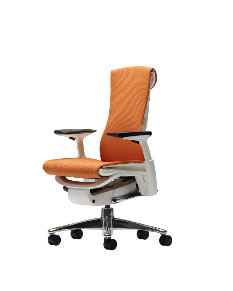 The Herman Miller Embody ergonomic chair