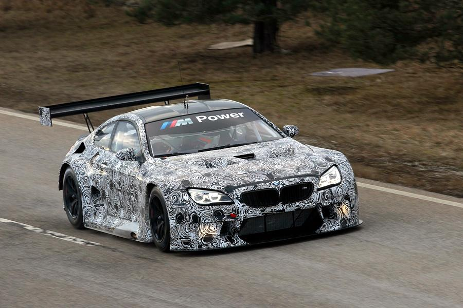 The BMW M6 GT3 has been tested on the track in Dingolfing, Germany