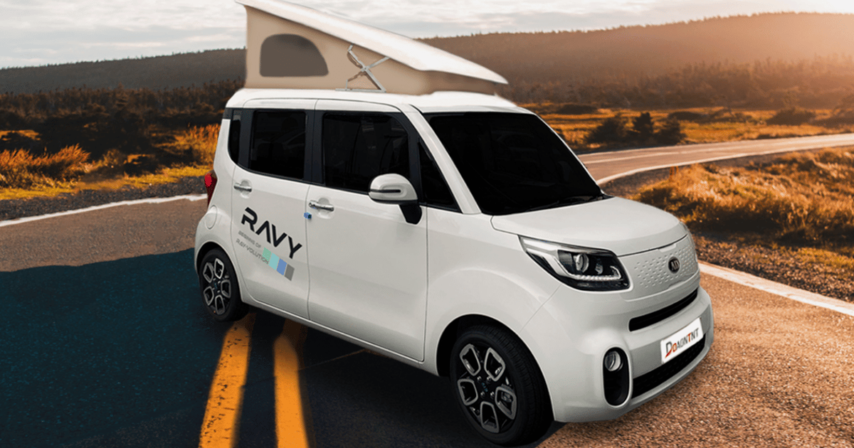Kia Ray pop-top micro-campervan might be the cutest RV in the world