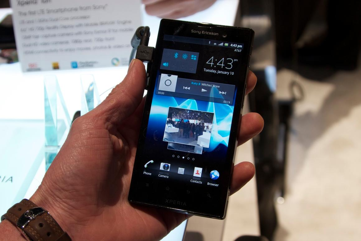 With the Xperia ion, Sony has joined the throng of phone-makers clamoring to announce LTE handsets at CES 2012