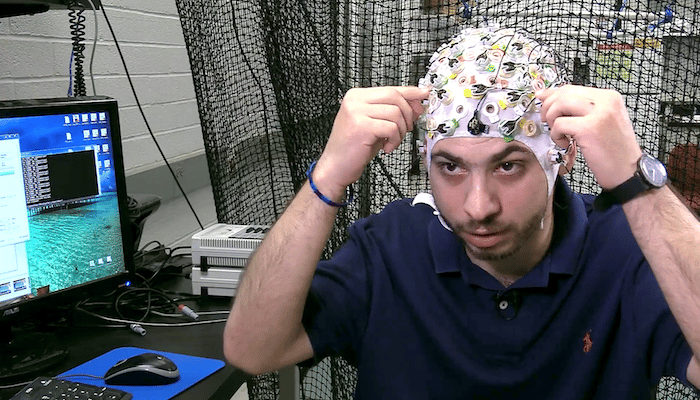 A team at Arizona State University has developed a system that allows a user to control and coordinatea swarm of drones using brainwaves