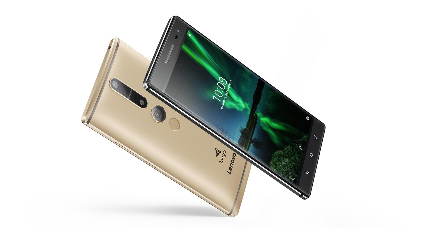 The PHAB2 Pro fromLenovo is the first smartphone running Google's Project TangoARtechnology