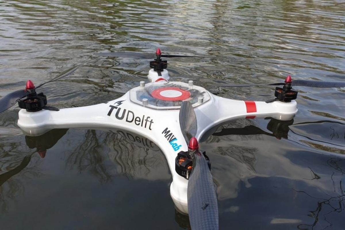 The Pelican drone was successfully tested on one Dutch lake this summer, and on another this week