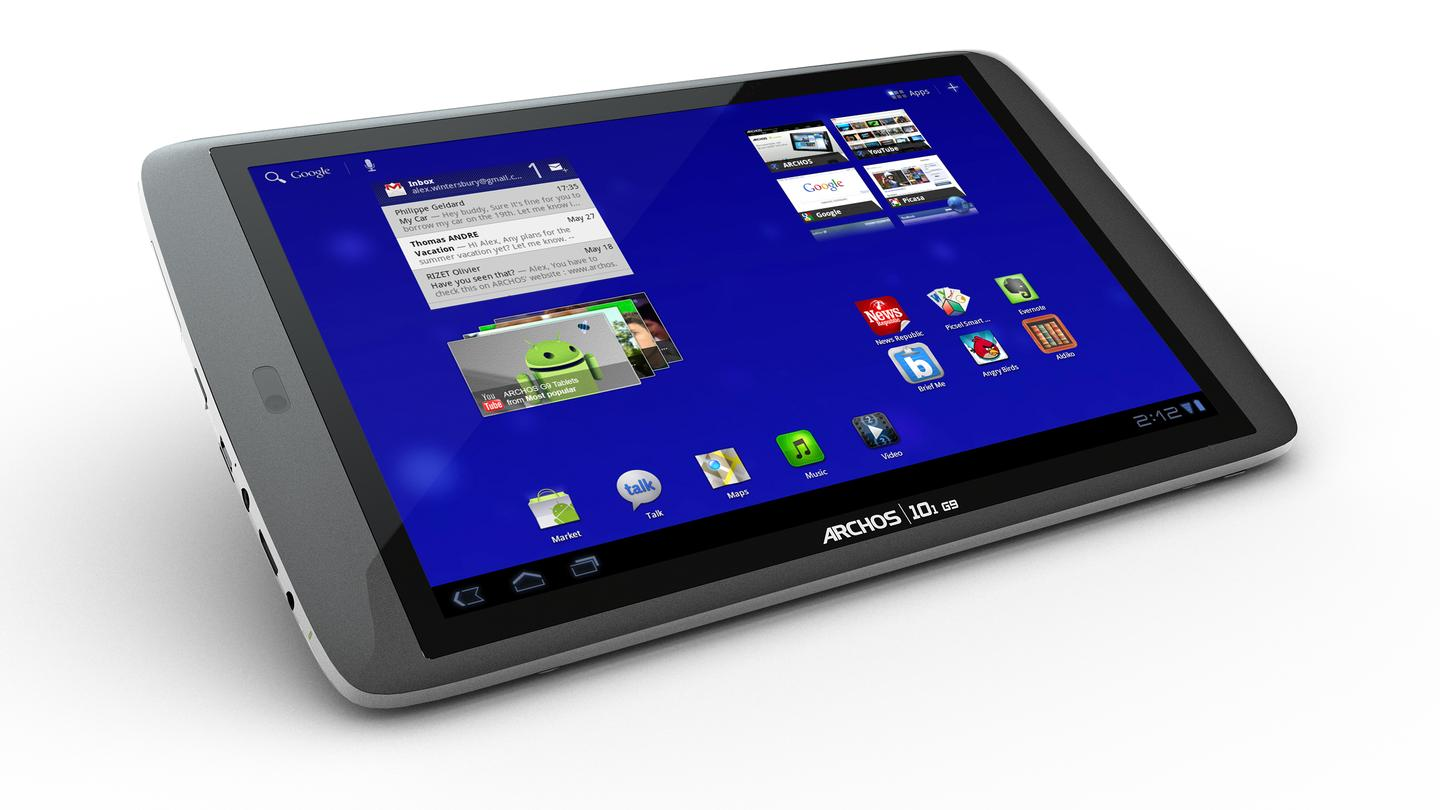 ARCHOS has announced that its latest G9 tablets will run on Android 3.2