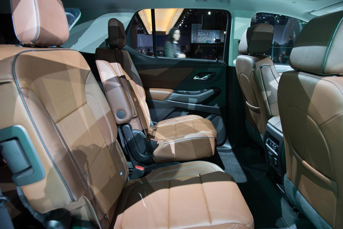 The new Traverse offers up to eight seats
