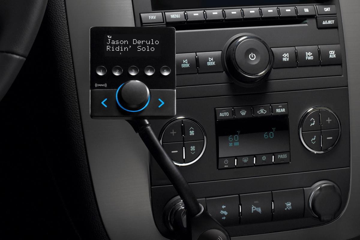 The XM Snap! portable in-vehicle satellite radio