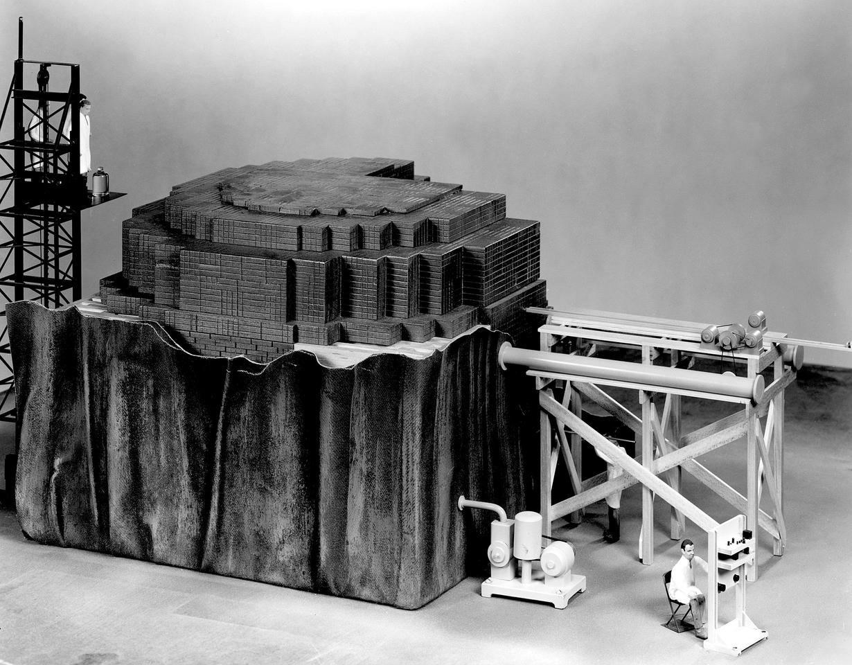 Model of the first nuclear reactor