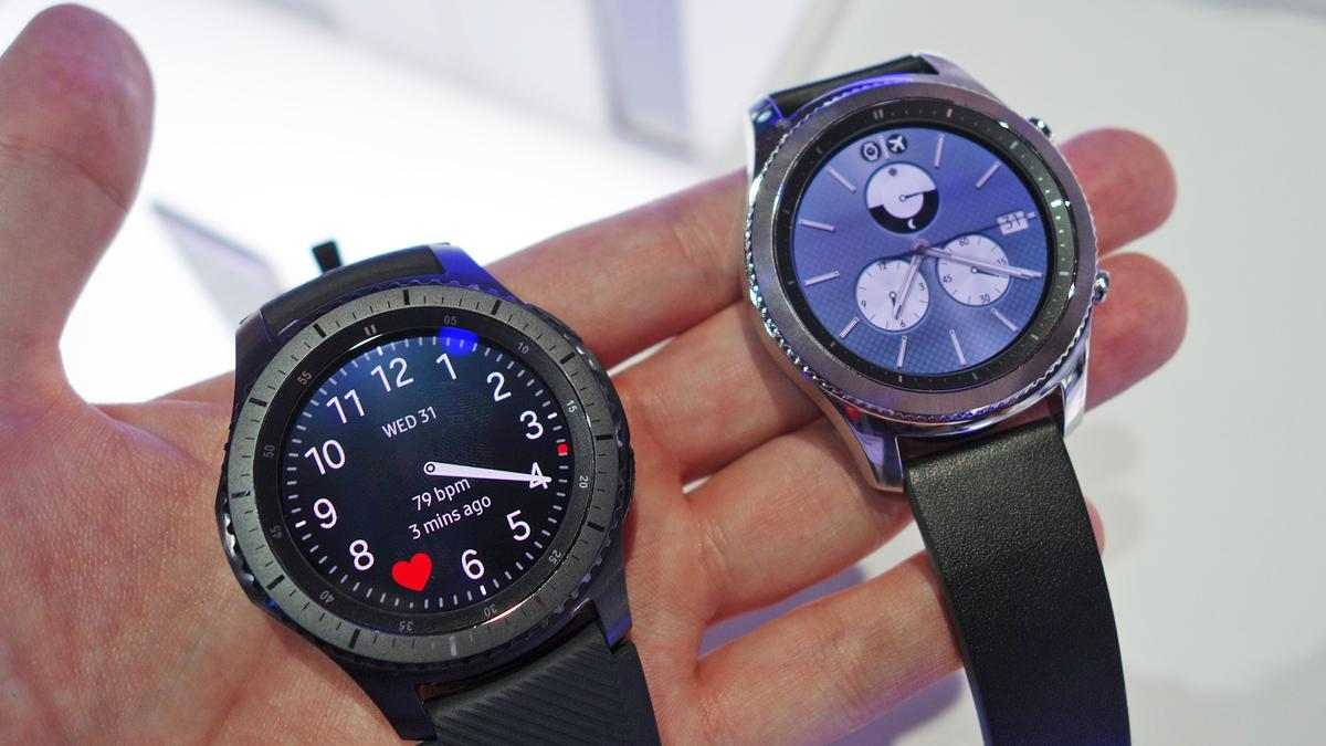 The new Samsung Gear S3 is here, and we've taken a look at both models (Frontier left, Classic right)