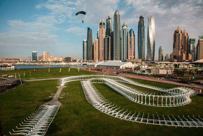 Event organizers claim that the World Drone Prix will be run on the first custom-built track designed specifically with drone racing in mind