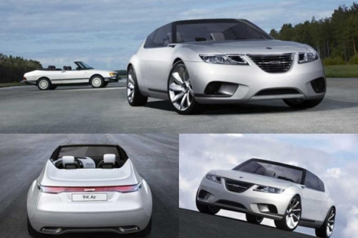 Saab reinvents the convertible with the 9-X AIR CONCEPT