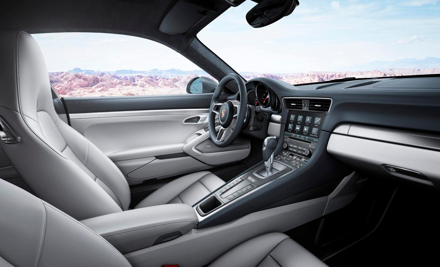 The new 911 Carrera debuts a new infotainment system for Porsche