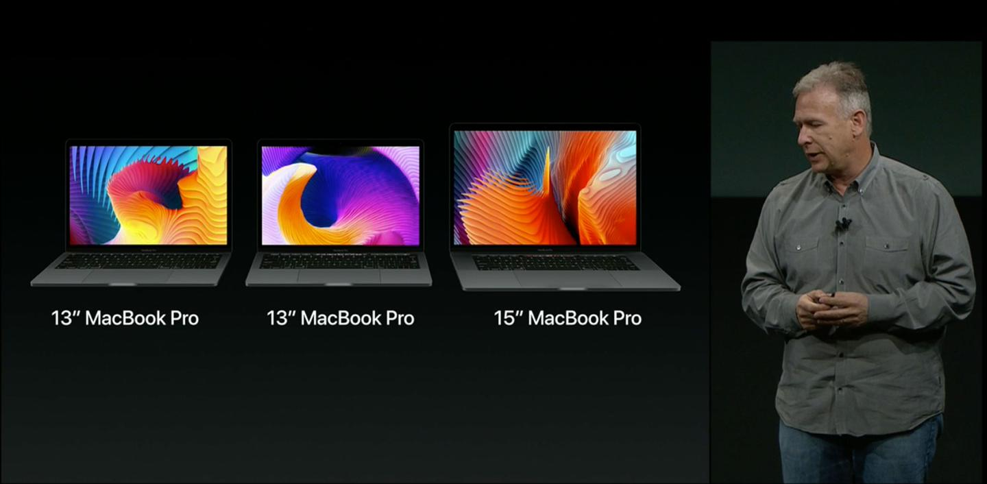 The 2016 MacBook Pro lineup consists of two 13-inch options (one with Touch Bar, one without) and a 15-inch Touch Bar-equipped version