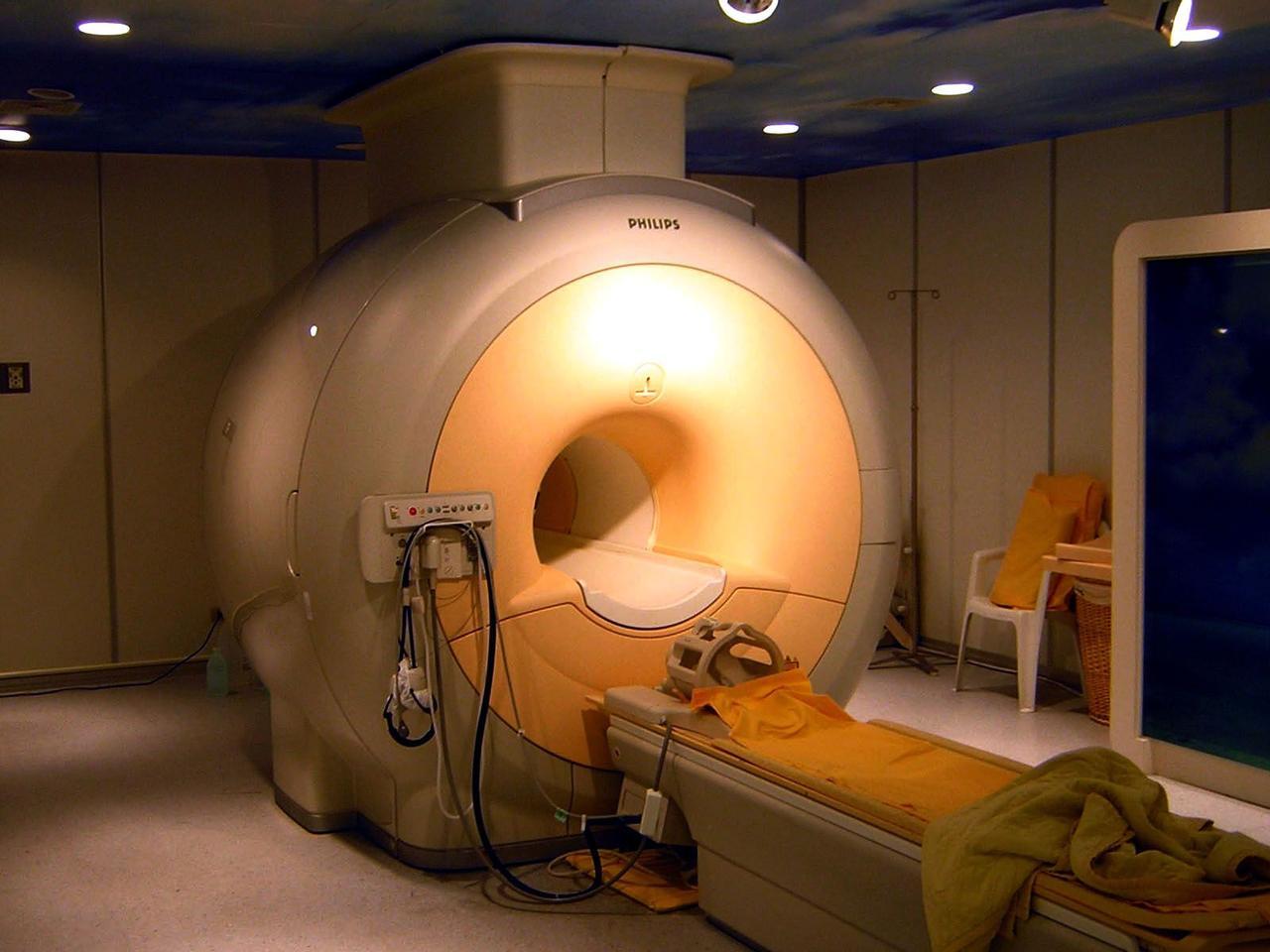 A modern three Tesla MRI scanner (Photo: Kasuga Huang)
