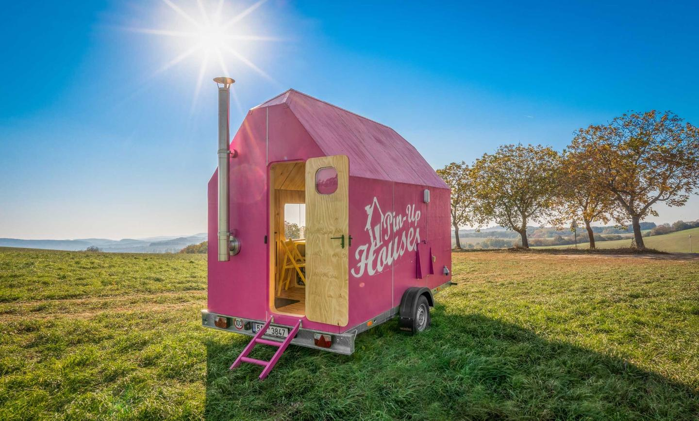 The Magenta offers ano-frills tiny house