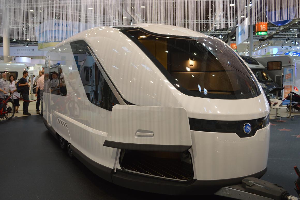 Knaus Tabbert presents the Caravisio concept at the 2013 Dusseldorf Caravan Salon