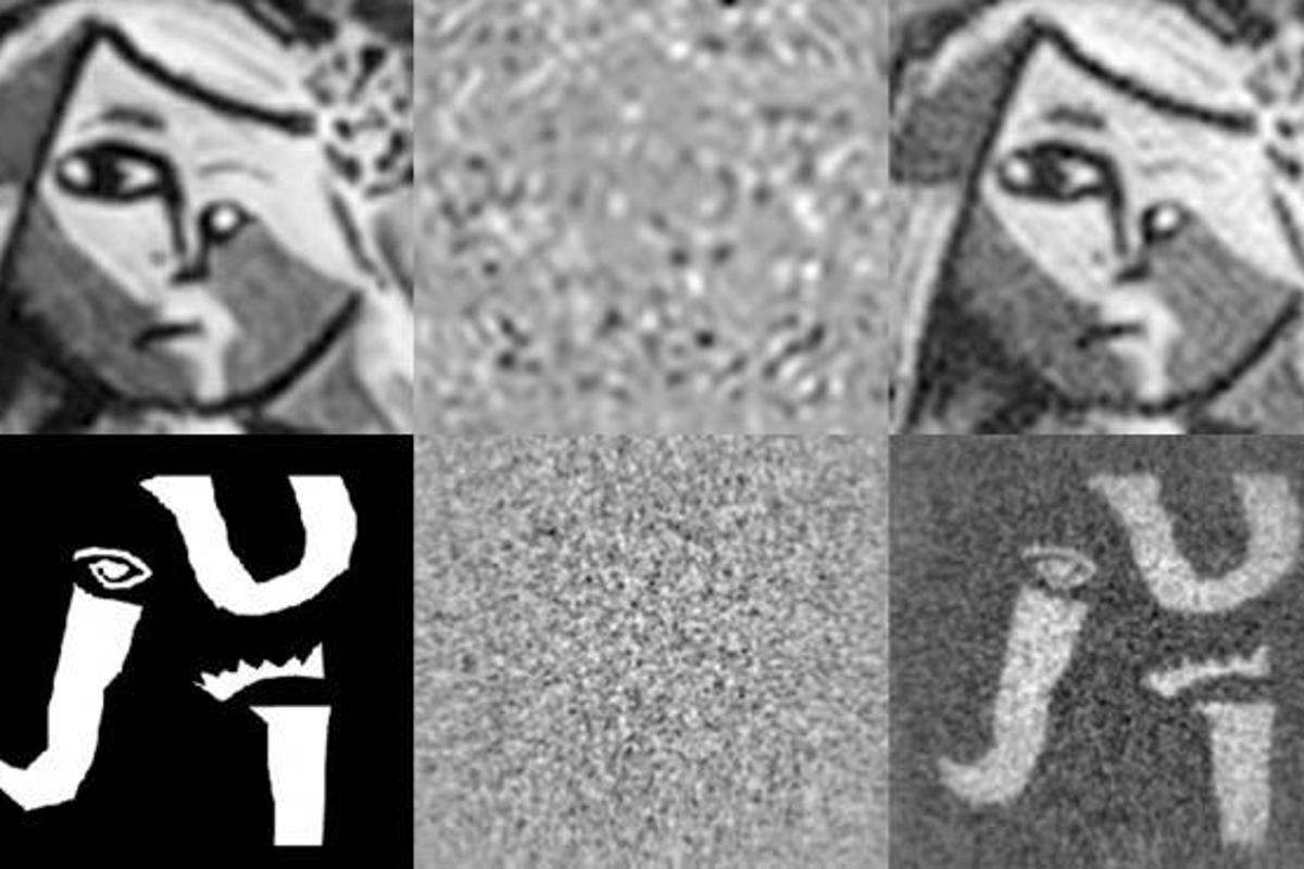 The sequence shows the difference between the original image (obtained with a wrong key) and the unencrypted one (Image: UJI)