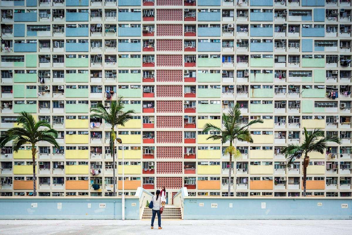 Italy'sFabio Mantovani took thiscolorfulshot of theChoi Hung Estatein Hong Kong. Theimage was entered into the Sense of Place category