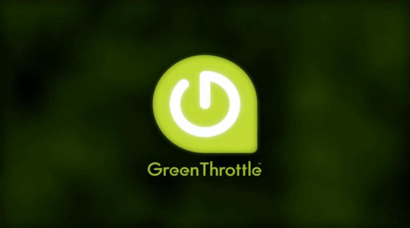 Green Throttle logo
