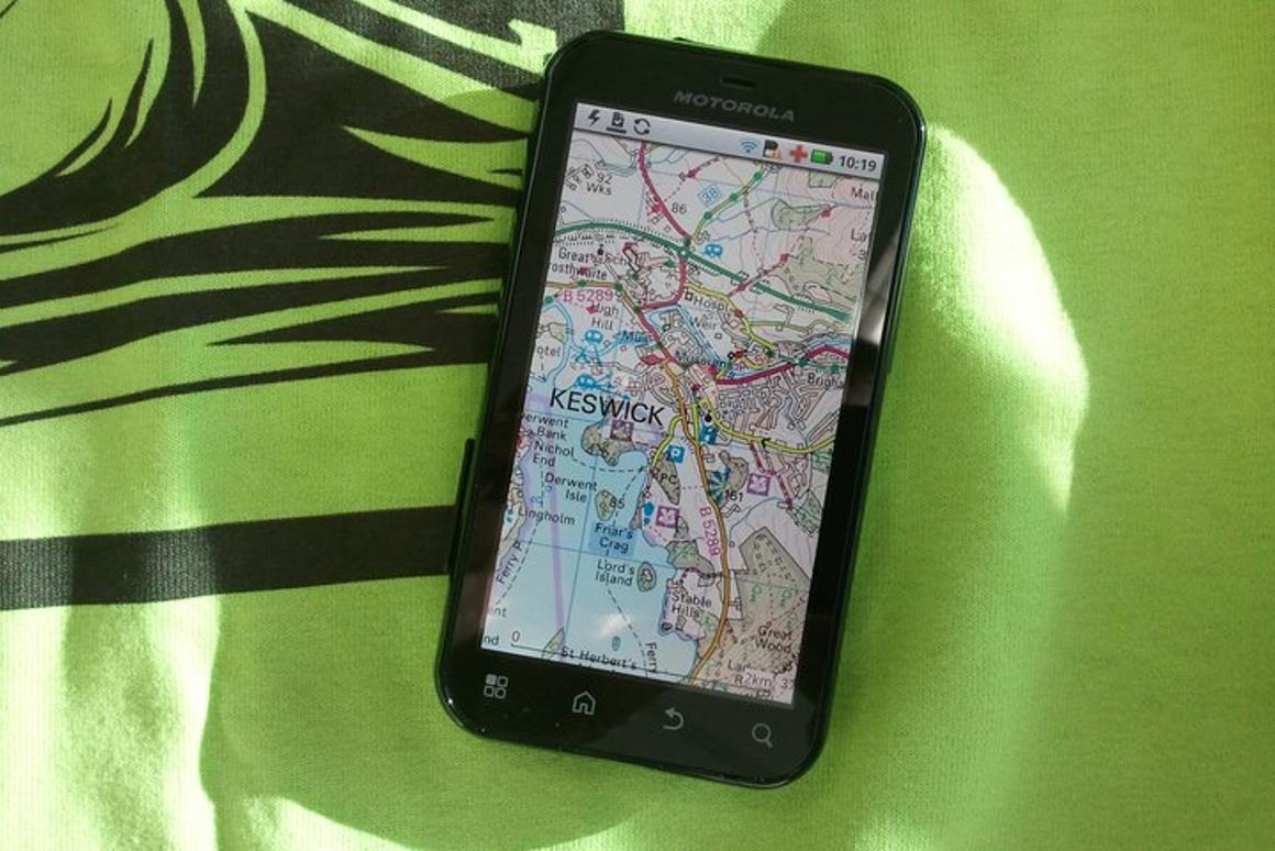 ViewRanger puts the functions of an advanced outdoor GPS into an inexpensive Apple/Android app