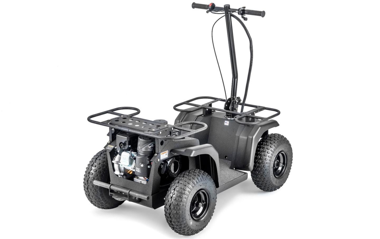 The Ripper ATVispowered by a 163cc Honda GX160 engine